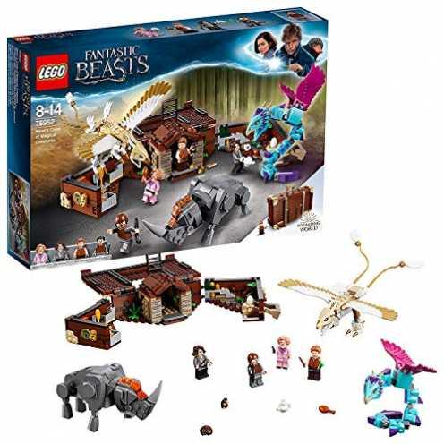 nachhaltig LEGO Phantastische Tierwesen Newts Koffer der magischen Kreaturen (75952) Bauset (694Teile) ökologisch