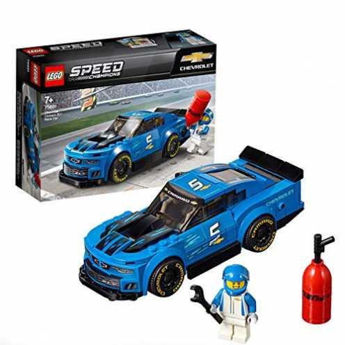 nachhaltig LEGO Speed Champions 75891 - Chevrolet Camaro ZL1, Rennwagen ökologisch