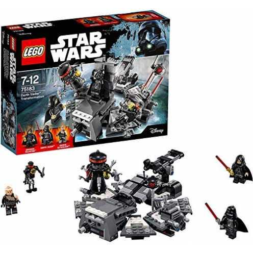 nachhaltig LEGO Star Wars 75183 Darth Vader Transformation, Kinderspielzeug ökologisch