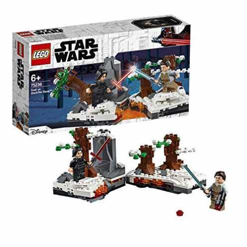 nachhaltig LEGOStarWars 75236 - Duell um die Starkiller-Basis, Bauset ökologisch