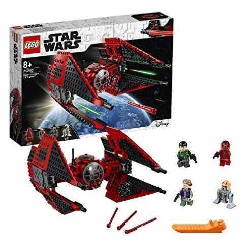 nachhaltig LEGOStarWars 75240 Resistance Major Vonreg's TIE-Fighter, Bauset ökologisch