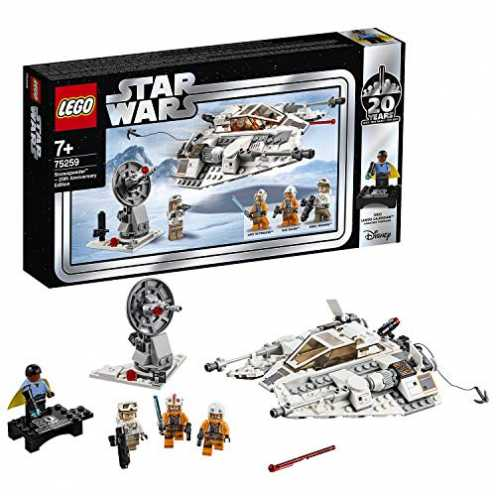 nachhaltig LEGOStarWars 75259 - Das Imperium schlägt zurück Snowspeeder- 20Jahre LEGOStarWars, Bauset ökologisch