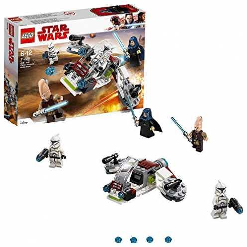 nachhaltig LEGO Star Wars Jedi und Clone Troopers Battle Pack 75206 Star Wars Spielzeug ökologisch