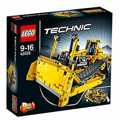 nachhaltig LEGO Technic 42028 - Bulldozer ökologisch