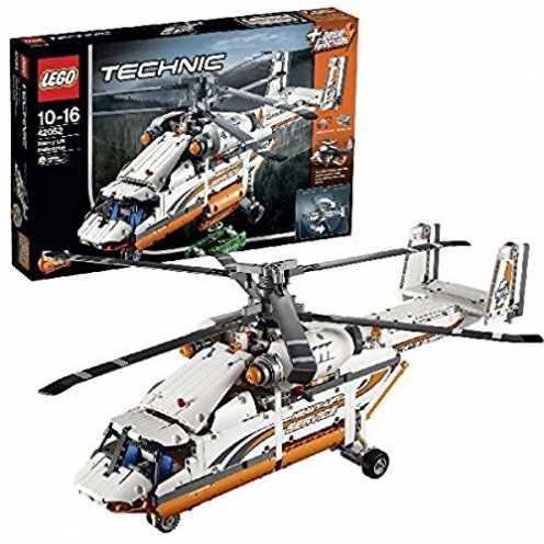 nachhaltig LEGO Technic 42052 - Schwerlasthubschrauber, Fortgeschrittenes Bauspielzeug ökologisch