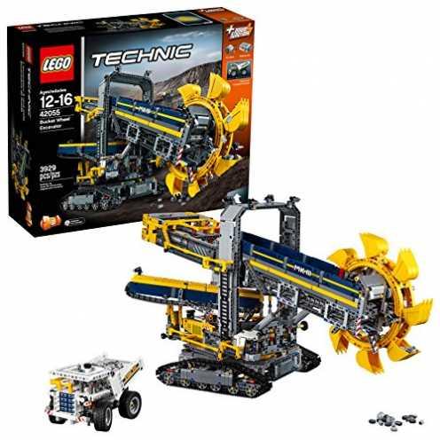 nachhaltig LEGO Technic 42055 - Schaufelradbagger, Bauspielzeug ökologisch