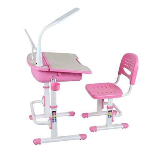 nachhaltig Leomark Ergonomisch Kinderschreibtisch SMART Schreibtisch und Stuhl höhenverstellbar Fa... ökologisch