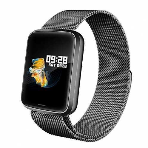 nachhaltig Lintelek Smartwatch NEU Smart Watch Health Watch Fitness Armband Pulsuhren Sportuhr Far... ökologisch