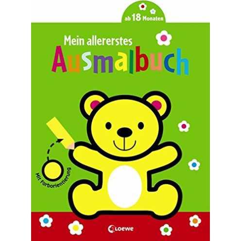 nachhaltig Mein allererstes Ausmalbuch (Bär) ökologisch