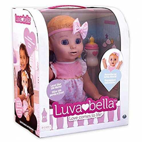 nachhaltig Luvabella 6039298 - Interaktive Puppe mit Sprachfunktion - DEUTSCHE Version ökologisch