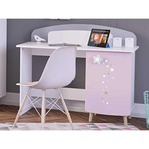 nachhaltig möbelando Kinder-Schreibtisch Arbeitstisch Maltisch Holztisch Basteltisch Savannah I ökologisch