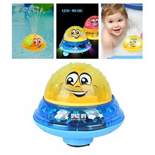 nachhaltig Badespielzeug Wasserspiel für Kinder Mit 2 Musik + Blinklicht - Baby Bade Bad Schwimmen... ökologisch