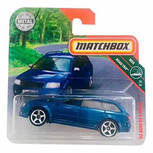 nachhaltig Matchbox 02 Audi RS 6 Avant ökologisch