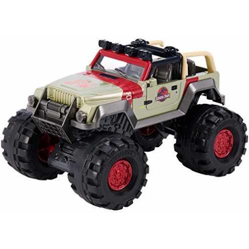 nachhaltig Matchbox Mattel - FMY49 Jurassic World - '93 Jeep Wrangler Truck - Maßstab 1:24 ökologisch