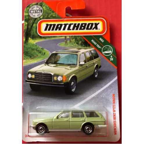 nachhaltig Matchbox Mercedes-Benz W123 Wagon 1:64 1 Stück ökologisch