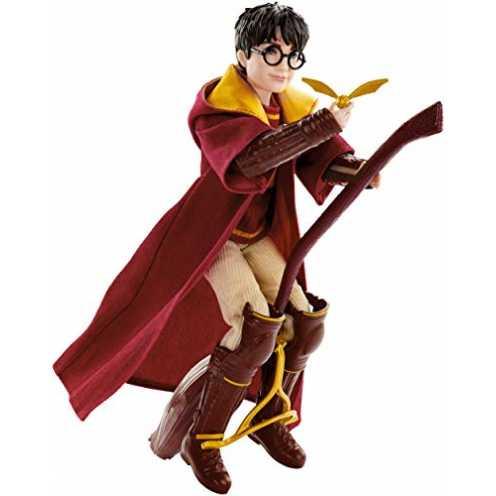 nachhaltig Mattel GDJ70 Harry Potter und Die Kammer des Schreckens Harry Potter Quidditch Puppe, Spielzeug ab 6 Jahren ökologisch