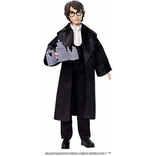 nachhaltig Mattel GFG13 - Harry Potter und der Feuerkelch Weihnachtsball Harry Potter Puppe gelenkig, Spielzeug ab 6 Jahren ökologisch