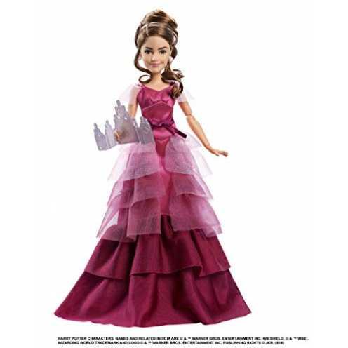 nachhaltig Mattel GFG14 - Harry Potter und der Feuerkelch Weihnachtsball Hermine Granger Puppe gelenkig, Spielzeug ab 6 Jahren ökologisch