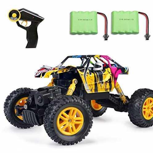 nachhaltig MaxTronic RC Cars, RC Auto 4WD Offroad Rock Crawler 2,4 GHz 1:18 Funk-Fernbedienung Fer... ökologisch