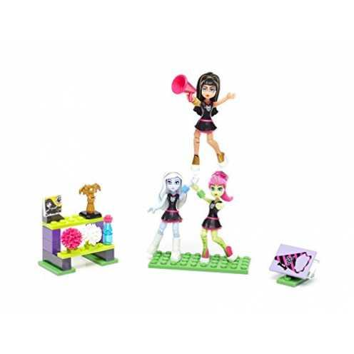 nachhaltig Mega Bloks Mattel DYC73 - Construx Monster High Cheerleader Set ökologisch