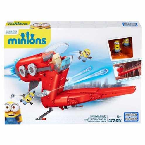 nachhaltig Mattel Mega Bloks CNF60 - Minions Movie Großes Spielset, Bau- und Konstruktionsspielzeug ökologisch