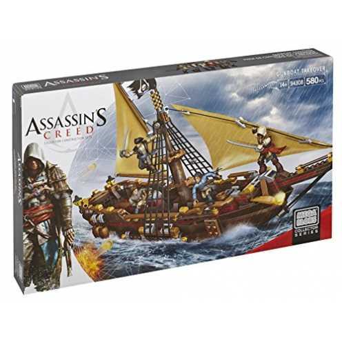 nachhaltig Mattel Mega Bloks DBJ05 Assassin's Creed - Gunboat Takeover ökologisch