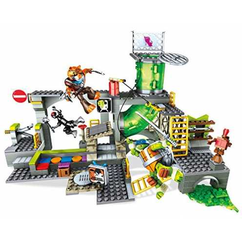 Mattel Mega Bloks DMX55 - Teenage Mutant Ninja Turtles Geheimversteck
