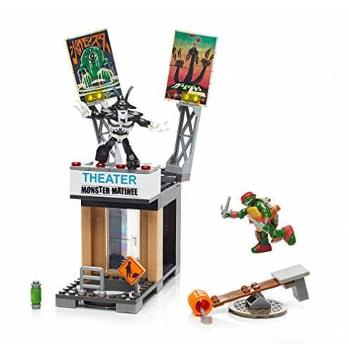 Mattel Mega Bloks DPF64 - Teenage Mutant Ninja Turtles Coole Angriffsaction