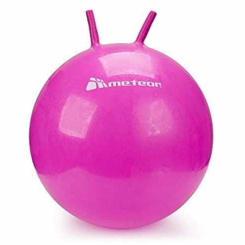 nachhaltig meteor® Bouncy Hüpfball Gummiball Hopsball Sprungball Springball Hopser 55cm - 65cm Plu... ökologisch