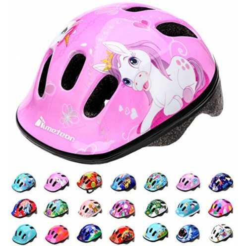 nachhaltig meteor® Fahrrad-Helm Kinder-Jugend-helme: Radhelm Radsport Skateboard Inline-Skate BMX Scooter - Entwickelt für die S... ökologisch