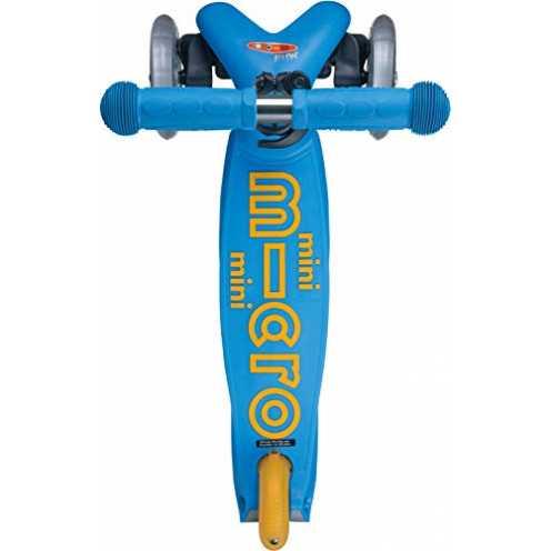 nachhaltig Micro Mini Deluxe Ocean Blue Kinderscooter (Ocean Blue) ökologisch