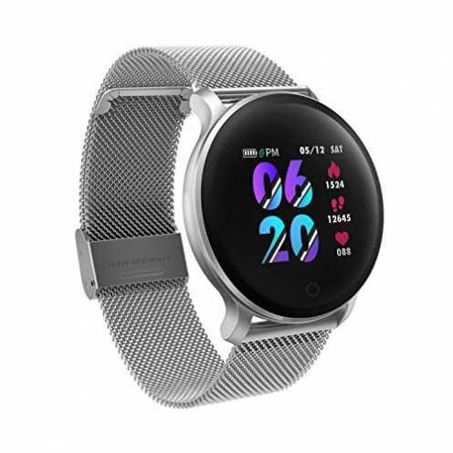 nachhaltig moreFit Fitness Armband Uhr, Smartwatch Fitness Tracker mit Pulsmesser Wasserdicht IP68... ökologisch