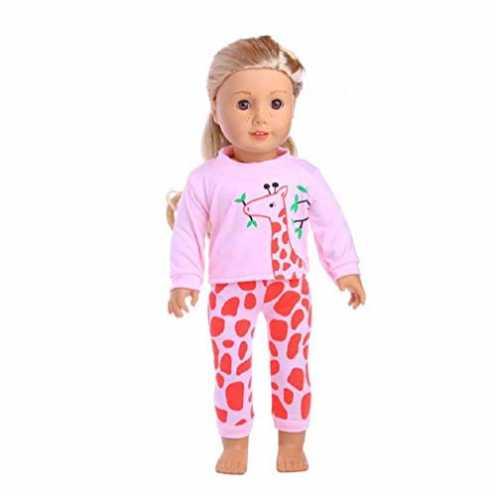 nachhaltig Puppen-Pyjama/Nachtwäsche, schöne Puppenkleidung für 45,7 cm American Girl Our Generation Journey Girl Puppe Kinder G... ökologisch
