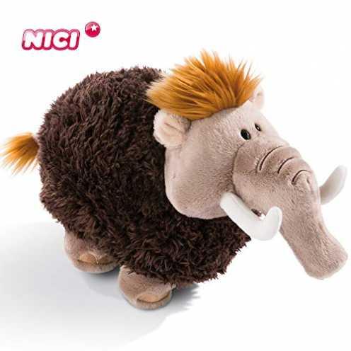 nachhaltig Nici Plüschtier Mammut 18 cm - Mammut Kuscheltier für Jungen, Mädchen & Babys - Flauschiges Stofftier zum Kuscheln, S... ökologisch