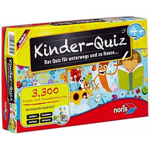 nachhaltig Noris 606013595 Kinder Quiz ökologisch