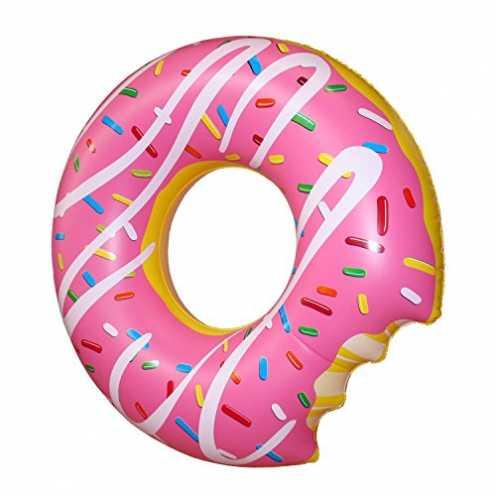 nachhaltig Schwimmring Donut mit Biss, Ø 119cm ökologisch