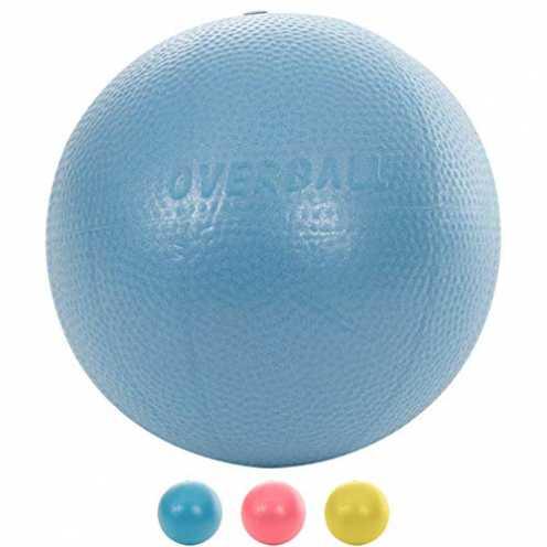 nachhaltig Overball 23 cm blau weicher griffiger Ball ökologisch