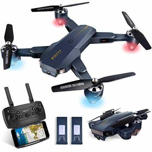 nachhaltig Pengrui Drohne mit Kamera HD 720P Faltbare Drohne FPV 120° Weitwinkel RC Quadrocopter, ... ökologisch