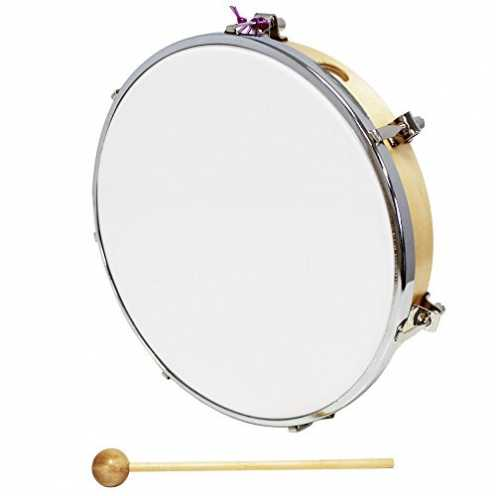 nachhaltig Percussion Plus Stimmbare Trommel 10 Zoll/25,4 cm ökologisch