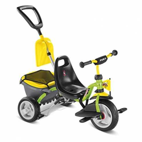 nachhaltig Puky Dreirad CAT 1 SP grün/gelb ökologisch