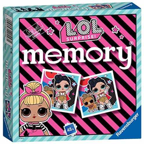 nachhaltig Ravensburger 20556 Surprise LOL Überraschung-Mini-Memory-Spiel für Kinder ab 3 Jahren - EIN klassisches Bilder-Schnap... ökologisch