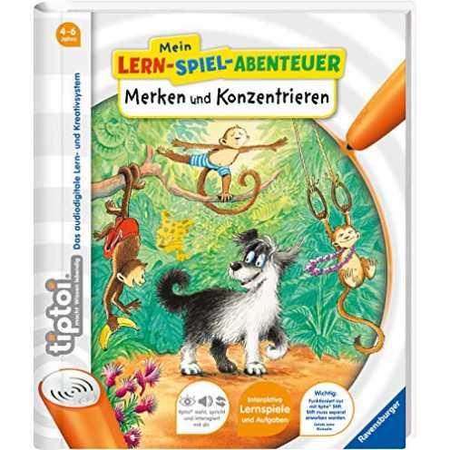 nachhaltig tiptoi® Merken und Konzentrieren (tiptoi® Mein Lern-Spiel-Abenteuer) ökologisch
