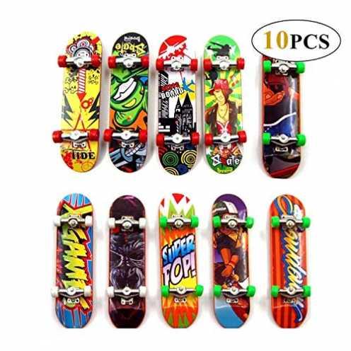 nachhaltig Reastar Finger Skateboard 10pcs Professionelle Mini Fingerboards Skatepark Spielzeug für Kinder Spielen Oder ALS Fing... ökologisch