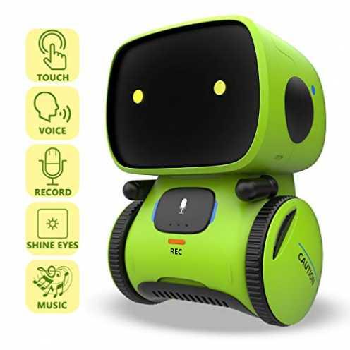 nachhaltig REMOKING Intelligent Roboter Kinder Spielzeug, Interaktives Roboter Lernspielzeug, Gesc... ökologisch