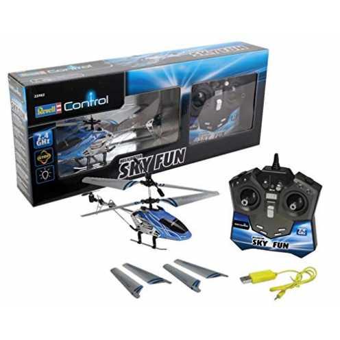 nachhaltig Revell Control RC Helikopter, ferngesteuerter Hubschrauber für Einsteiger, 2,4 GHz Fern... ökologisch