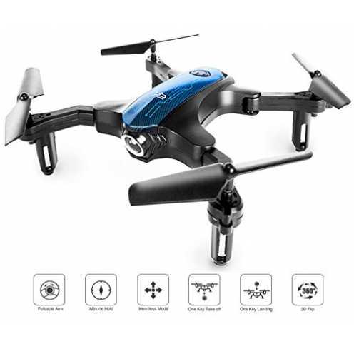 nachhaltig ScharkSpark Drohne, transportierbarer RC-Quadcopter mit faltbaren Armen zum drinnen / d... ökologisch