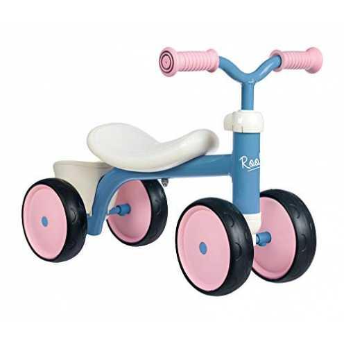 nachhaltig Smoby - Rookie Laufrad Rosa - ideale Lauflernhilfe für Kinder ab 12 Monaten, Lauflernra... ökologisch