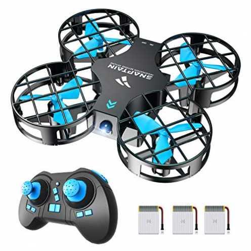 nachhaltig SNAPTAIN Mini Drohne H823H Plus mit 3 Akkus für 21 Minuten Flugzeit, RC Drone, Quadroco... ökologisch