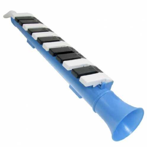 nachhaltig SODIAL(R)13-Taste Musik Instrument Mundharmonika Kinder Spielzeug - Blau ökologisch