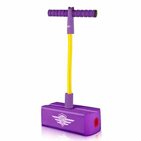 nachhaltig SOKY 5 6 7 8 9 10 Jahre Jungen Mädchen Spielzeug, Schaum-Pogo-Stick-Jumper für Jungen 4... ökologisch